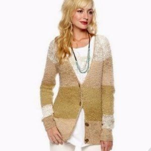 Free People Lake Tahoe Colorblock Cardigan